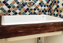 sink & washroom