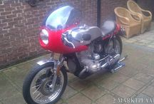 Niks origineel / custom motorcycles  for sale in the Netherlands or Belgium; all pins from niksorigineel.blogspot.nl