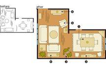 Interior Design | L-Shape Living Room