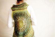 crochet. sweater