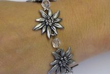 German  Bracelets / German Edelweiss Bracelets for all Occasions - See More at http://goo.gl/XrE9zG  / by Ernst Licht Embroidery and Imports