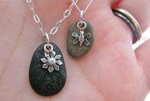 Ideas p/ hacer accesorios con piedras que mi papá ha recolectado por mucho tiempo
