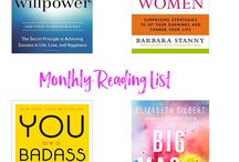 Book Club / The best books and reading material for entreprenuers, bloggers, girlbosses, and everyone needing a little inspiration and motivation.