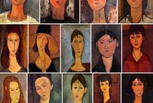 MODIGLIANI / Since childhood, I have always regarded him as one of my favorite painters.