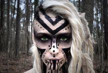 love tribal make up