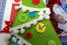 Kerst met papier