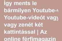 mentés Youtuberól