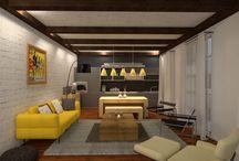 Planner 5D designs: living rooms