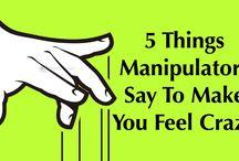 Manipulation person