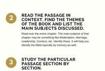 Bible/Scripture Study