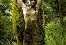 Művészi test festés
