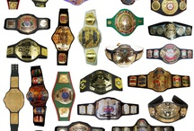 All Championship Belts