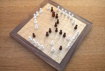 Strategic Hnefatafl / Want to know how to win at this game?  On this board you'll find illustrated information about the rules of hnefatafl, as well as strategy and tactics for the game.