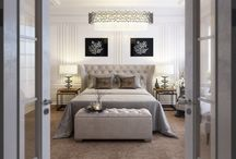 white classic bedroon