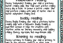 School-Reading @ Home / Resources for parents and students to foster literacy in the home / by Erika Krueger