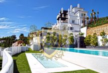 Valley Heights_Marbella Homes4you / Valley Heights si trova tra i campi da golf e immobili di lusso di Los Arqueros, La Quinta e l'esclusivo La Zagaleta. Questa nuova urbanizzazione a bassa densità  è costituita da quattro edifici di nuova costruzione, che ospitano olo 40 appartamenti di lusso e attici. Ogni unità è esposta a sud con vista ininterrotta del mare; due grandi piscine - ciascuna con una superficie di 105 mq.