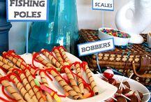 Fishing theme party ideas