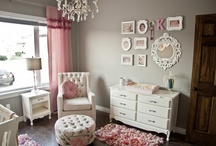 Ella's Nursery / Pink, coral, gold, ruffles..... / by Michelle Parker