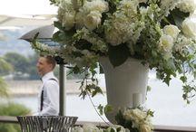 Mariage Romantique - Chique / Mariage- / Wedding- Bouquets, Centres de table, compositions florales Bouquets, Center pieces, Flower arrangements  By Maud Creation Florale
