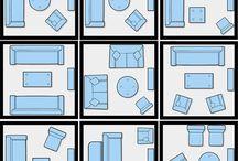 Para Salas | Dimensões e Projetos