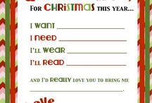 Christmas / by Sarah Chadbourne