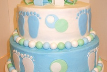 Baby shower for twin boys