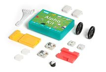 The SAM Labs Alpha Kit / An introductory STEAM lesson kit comprised of a variety of teaching materials, a flow-based coding app and a number of wireless electronic blocks and accessories.  Use the SAM Blocks and the SAM Space app to build classroom projects with your students and complete lesson plans.