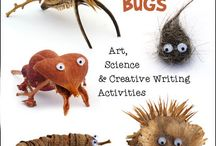 Bug Crafts and Learning Activities
