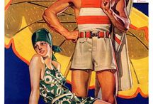 Art: Just Beachy / Celebrate a century of beachgoing with these sun-sational covers. You might have sand in your shoes for a week afterward, but that's a small price to pay.   / by Saturday Evening Post