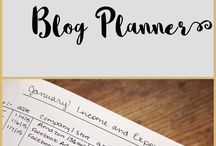 Blog planning / Ways to plan my blog and YouTube stuff