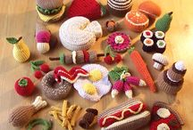 1. Amigurumi Food