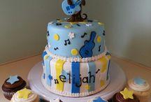 Music Monkey Cake Smash Theme Inspiration