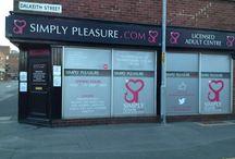 Simply Pleasure Barrow In Furness / 21 Dalkeith Street Barrow In Furness LA14 1ST 0122 982 7450 Barrowinfurness@simplypleasure.com