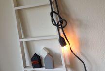 Snoerlamp ophangen