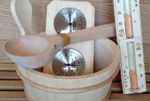 Sauna Accessories / Top quality Sauna Accessories that will enhance your sauna experience.