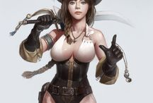 Pirates - Female - Anime