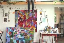 taiteilijamiljöitä