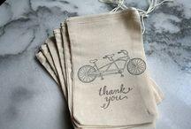 Bike themed wedding