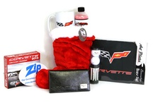 Corvette Stocking Stuffers / Zip Corvette has assembled some great gift ideas for all Corvette enthusiasts! And we've bundled all these gift ideas in one package - all at a great price!! We're not talking about socks, ties or scarfs......No, these are great Corvette gifts. Not only will your Corvette owner be surprised - but they'll be excited just to see what else is in their stocking! / by Zip Corvette Parts
