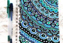 Keçeli Kalem Çizimler