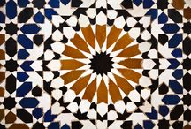 Moroccan Moods / Moroccan inspired architectural design internally and externally, with lines, colour and shapes