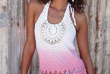 •°•crochet and knit top•°• / by Lui Suityeng