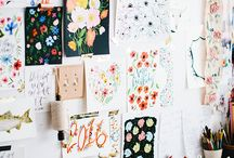 Craft room / Inspiring office space, craft room ideas, craft room decor