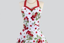 Cute Aprons / Whether vintage style or modern aprons should be fun as well as functional