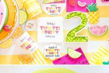 Twotie fruity birthday