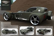 Car Concepts / Presentation boards, development, panels