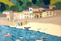 Cornwall / Textile art of Cornwall