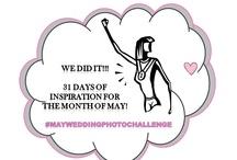#MayWeddingPhotoChallenge