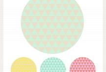 patterns, graphic! design! & illustrations!