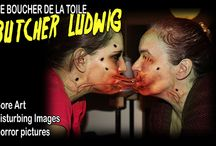 HORROR ART OF BUTCHER LUDWIG / Horror Art and Disturbing pictures